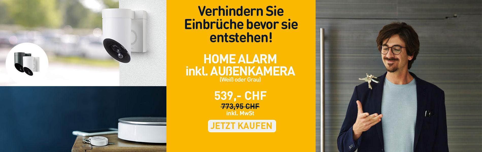 HOME ALARM  inkl. AUßENKAMERA