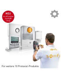 Somfy Protexial Inbetriebnahme Erweiterung