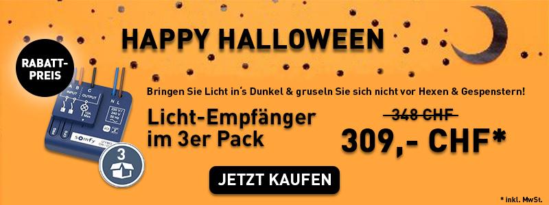 Jetzt Licht-Empfänger im 3er Pack zum Aktionspreis kaufen & 40 CHF sparen!